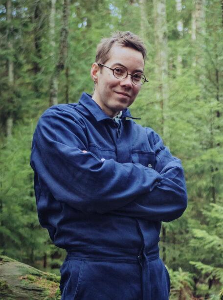 Lauri Antti Mattila, taitelija. Kuva: Visa Knuuttila
