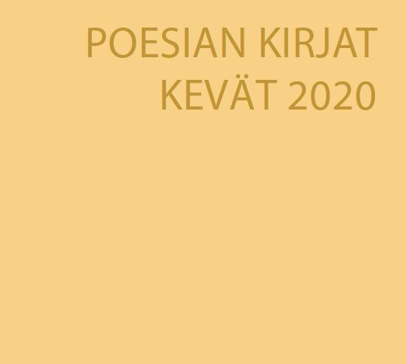 Poesian kevään 2020 kirjat