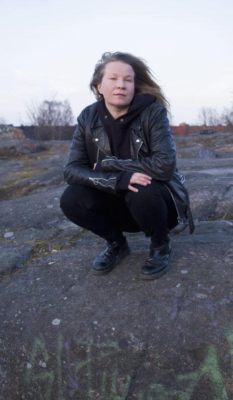 Sini Silveri. Kuva Antti Kainulainen